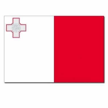 Maltese vlag 90x150 cm