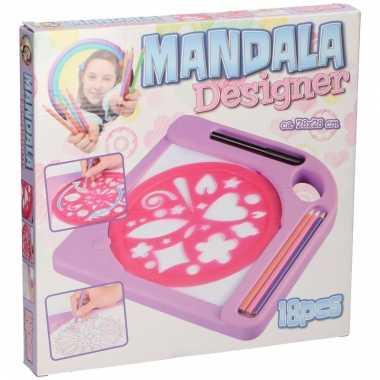 Mandala tekenset 18 delig