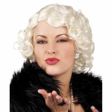Marilyn monroe pruik dames