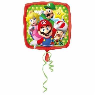 Mario bros folie ballon 43 cm