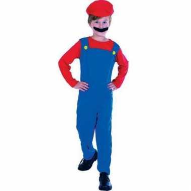Mario outfit voor kinderen