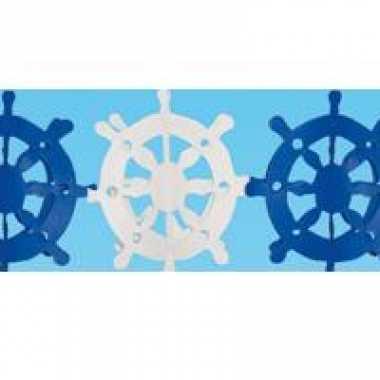 Maritieme decoratie slinger 4 meter