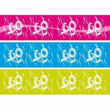 Markeerlint met de cijfers 60