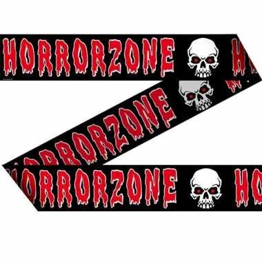 Markeerlint met horror zone