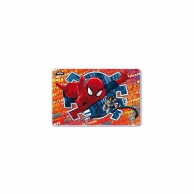 Marvel placemats spiderman 3d