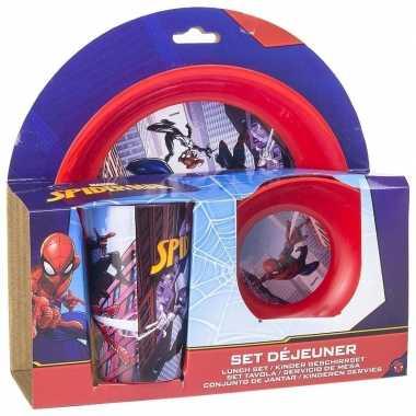 Marvel spiderman lunchservies voor kids