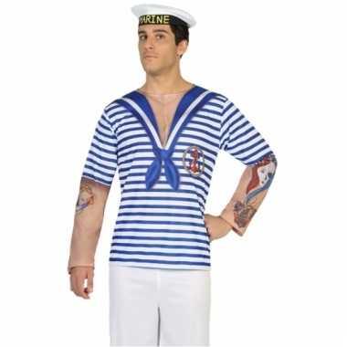 Matroos kostuum shirt verkleedoutfit