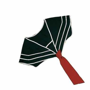 Matroos kraag met stropdas blauw