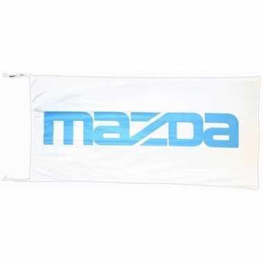 Mazda vlag wit 150 x 75 cm
