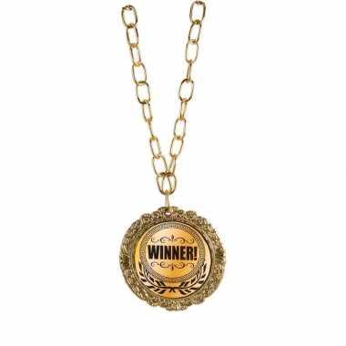 Medaille winnaar goud