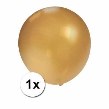Mega ballonnen goud metallic 90 cm