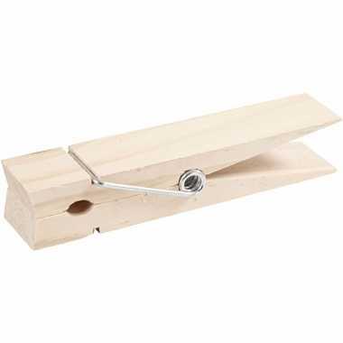 Mega knijper van hout 15 cm