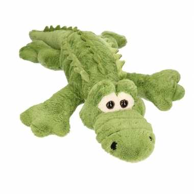 Mega krokodil pluche knuffel 100 cm