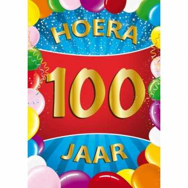 Mega poster 100 jaar