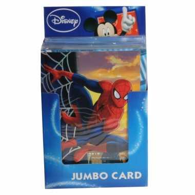 Mega verjaardagskaart spiderman