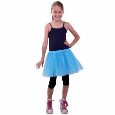 Meisjes verkleed rokje blauw