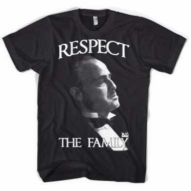 Merchandise godfather heren shirt respect
