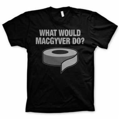 Merchandise macgyver shirt heren