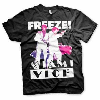 Merchandise miami vice freeze shirt heren