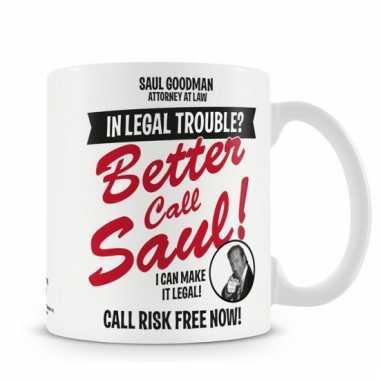Merchandise mok breaking bad saul goodman