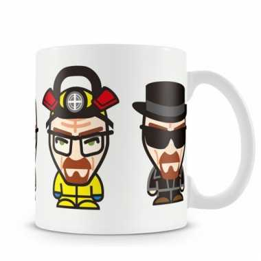 Merchandise mok breaking bad walter white minions