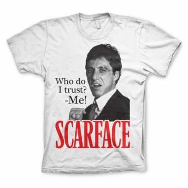 Merchandise shirt scarface who do i trust