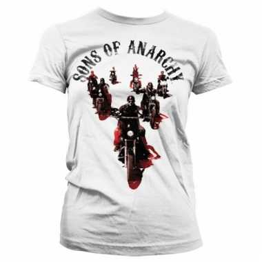 Merchandise sons of anarchy shirt dames wit