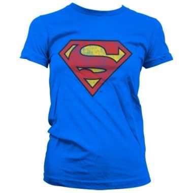 Merchandise superman logo shirt dames