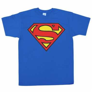 Merchandise superman logo shirt heren