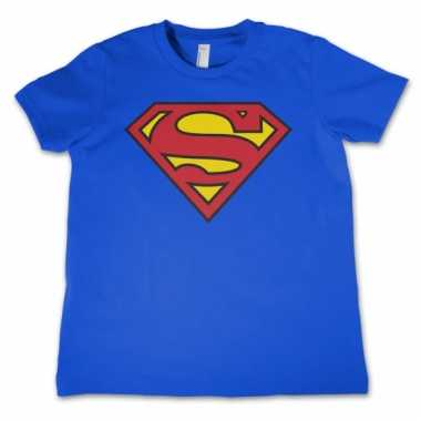 Merchandise superman logo shirt kids