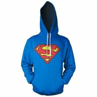 Merchandise superman logo sweater