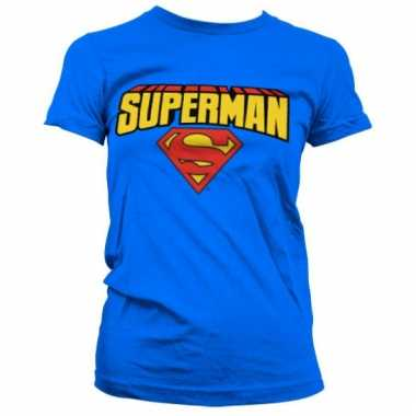 Merchandise superman shirt dames