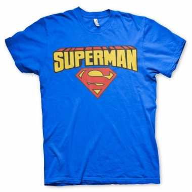 Merchandise superman shirt heren