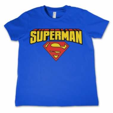 Merchandise superman shirt kinderen