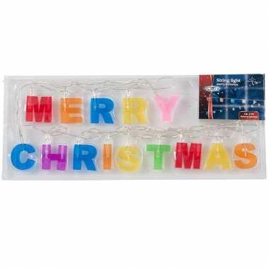Merry christmas verlichting