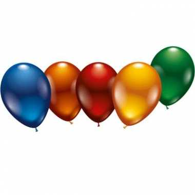 Metallic ballonnen 8x