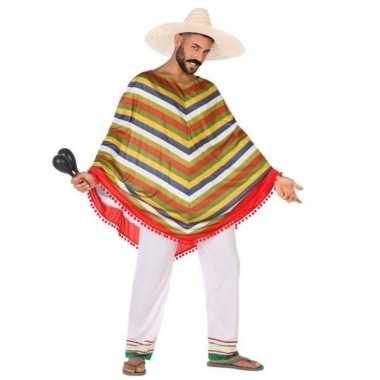 Mexicaans verkleedpak voor dames/heren