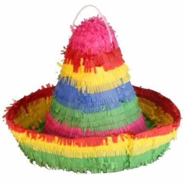 Mexicaanse pinata sombrero 38 cm