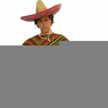 Mexicaanse ponchos volwassenen