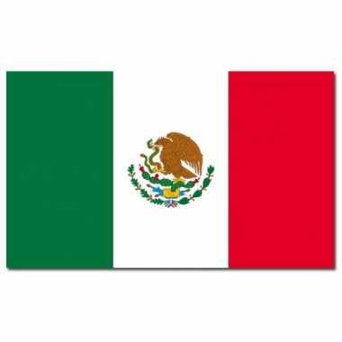 Mexicaanse vlag 90x150 cm