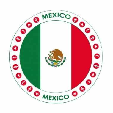 Mexico thema bierviltjes