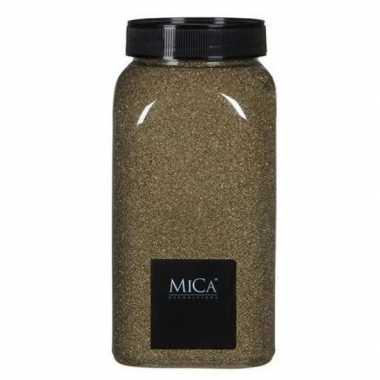 Mica decoratie zandkorrels goud 1 kg/kilo