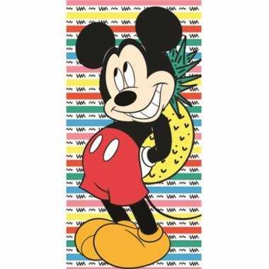 Mickey ananas katoenen strandlaken