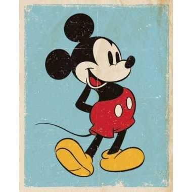 Mickey mouse vintage posters