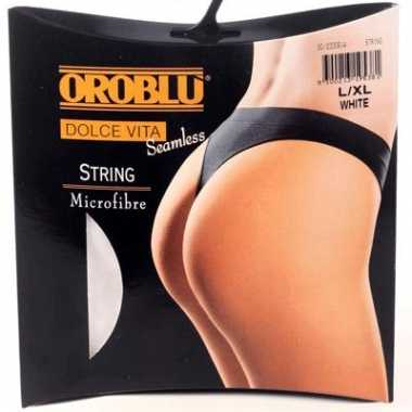 Microfibre dames string merk oroblu
