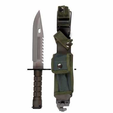 Military mes d80 groen met hoes