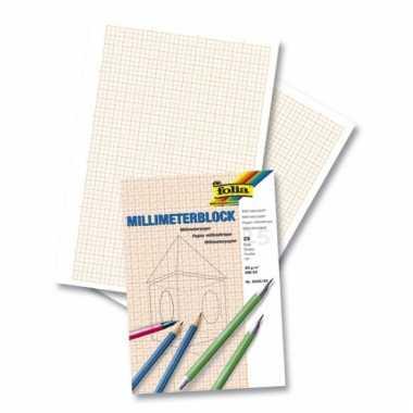 Millimeter papier 25 vel a4