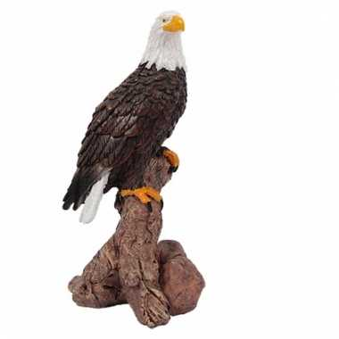 Mini beeldje adelaar roofvogel 10 cm