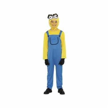 Mini kostuum geel jongen