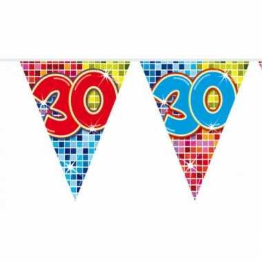 Mini vlaggetjeslijn 30 jaar